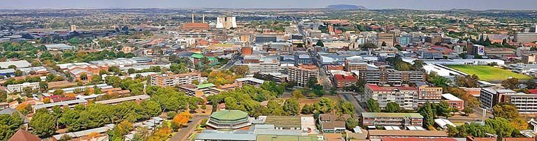Bloemfontein & Surrounding Accommodation banner