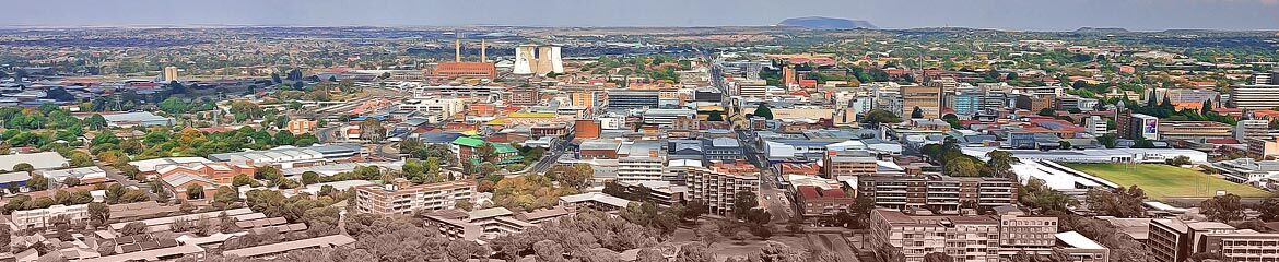 Bloemfontein & Surrounding Accommodation footer banner