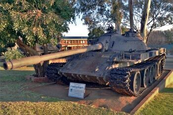 T-55 tank, South African Armour Museum, Bloemfontein